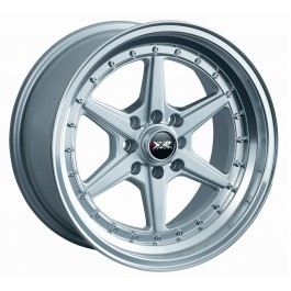 XXR (Sportmax) 501 16x8 +0 Offset 4x114.3/4x100 (Silver, Set of 4)
