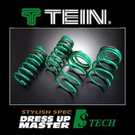 Tein S Tech Lowering Srings: 1996-2000 Acura CL 4 cyl. 2.2L 2.3L (SKB08-AUB00, Set of 4)