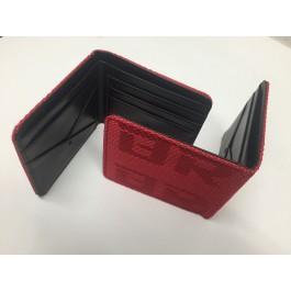 Bride Gradation Bi-Fold Wallet (Red)