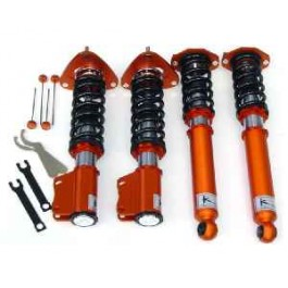 Ksport Kontrol Pro Coilover System - BMW 3 series 1982-1992 Weld-In. 318i, 325i w/51mm OE Front Strut - True Rear Coilover