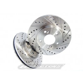 1984-1987 Toyota Corolla GTS + SR5 RWD AE86 Performance Brake Rotors (Rear)