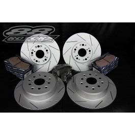 Platinum Series Slotted Brake Rotors