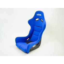 Status Racing Ring FIA Approved Bucket Racing Seat (Blue Ultrasuede)
