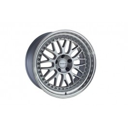 Zedd SLM 19x9.5 +12 Offset 19x11 +15 Offset 5x114.3 (Silver, Staggered Set of 4)