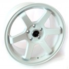 JNC 007 17x9 5x114.3 +30 Offset (White, Set of 4)