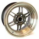 JNC 021 15x8 4x100 +20 Offset (Hyper Black, Set of 4)
