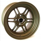 JNC 021 15x8 4x100 +20 Offset (Matte Bronze, Set of 4)