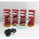 Tom's Racing Coilover Sleeves: 1988-2000 Honda Civic All Models (Set of 4)