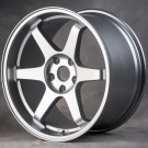 Miro 398 18x9.5 +34 Offset 5x100 (Silver, Set of 4)