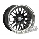 XXR (Sportmax) 531 17x9 +25 Offset 5x114.3/100 (Black, Set of 4)