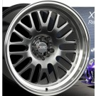 XXR (Sportmax) 531 17x10 +20 Offset 4x114.3/100 (Chromium Black, Set of 4)
