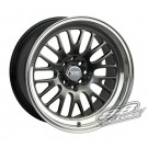 XXR (Sportmax) 531 17x8 +35 Offset 5x114.3/100 (Chromium Black, Set of 4)