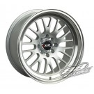 XXR (Sportmax) 531 17x9 +25 Offset 5x114.3/100 (Hyper Silver, Set of 4)