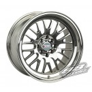 XXR (Sportmax) 531 17x9 +25 Offset 4x114.3/100 (Platinum, Set of 4)