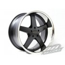 XXR (Sportmax) 968 18x9+20 Offset 5x114.3 (Flat Black w/ SSC Lip, Set of 4)