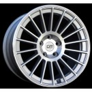 ESM 008 18x8.5 +35 18x9.5 +40 Offset 5x100 (Silver Machined, Staggered Set of 4)