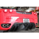artcarbon - Active Racing Technologies Carbon Fiber Rear Diffuser for 2005-2009 Ferrari F430 Coupe/Spider