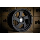 Whistler KR1 15x8 +20 Offset 4x100 (Matte Black, Set of 4)
