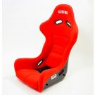 Status Racing Ring FIA Approved FRP Bucket Racing Seat (Red Ultrasuede)