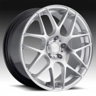 Eurotek UO2 19 X 8.5 +35 Offset 19 X 9.5 +33 Offset 5x120 (Hyper Silver, Staggered Set of 4)