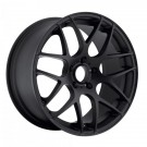 Eurotek UO2 19 X 8.5 +35 Offset 19 X 9.5 +33 Offset 5x120 (Matte Black, Staggered Set of 4)