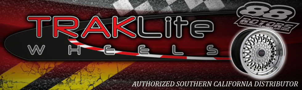 88 Rotors is an authorized dealer for Traklite Wheels!